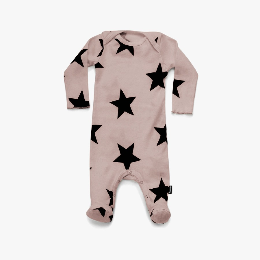 Star footed overall (new born)