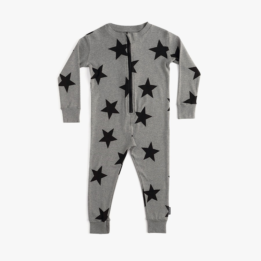 Star lounge zip overall (kids)