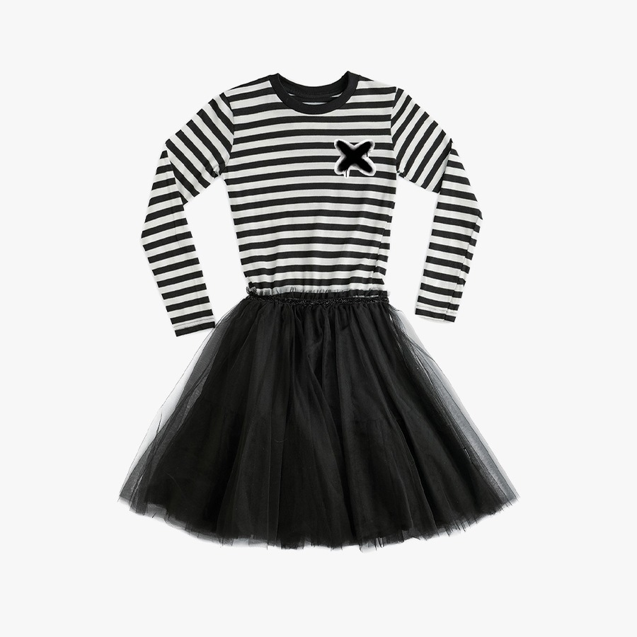Magic stripe tulle dress (kids)