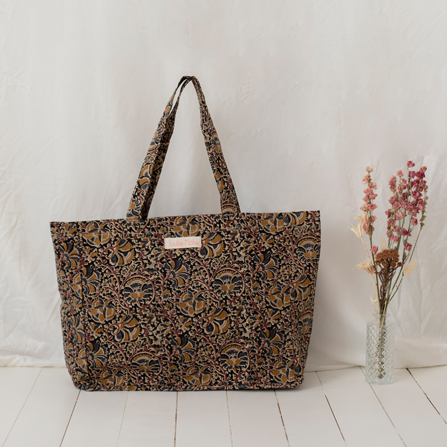 TOTE BAG BEVERLY NORDISH FLOWERS