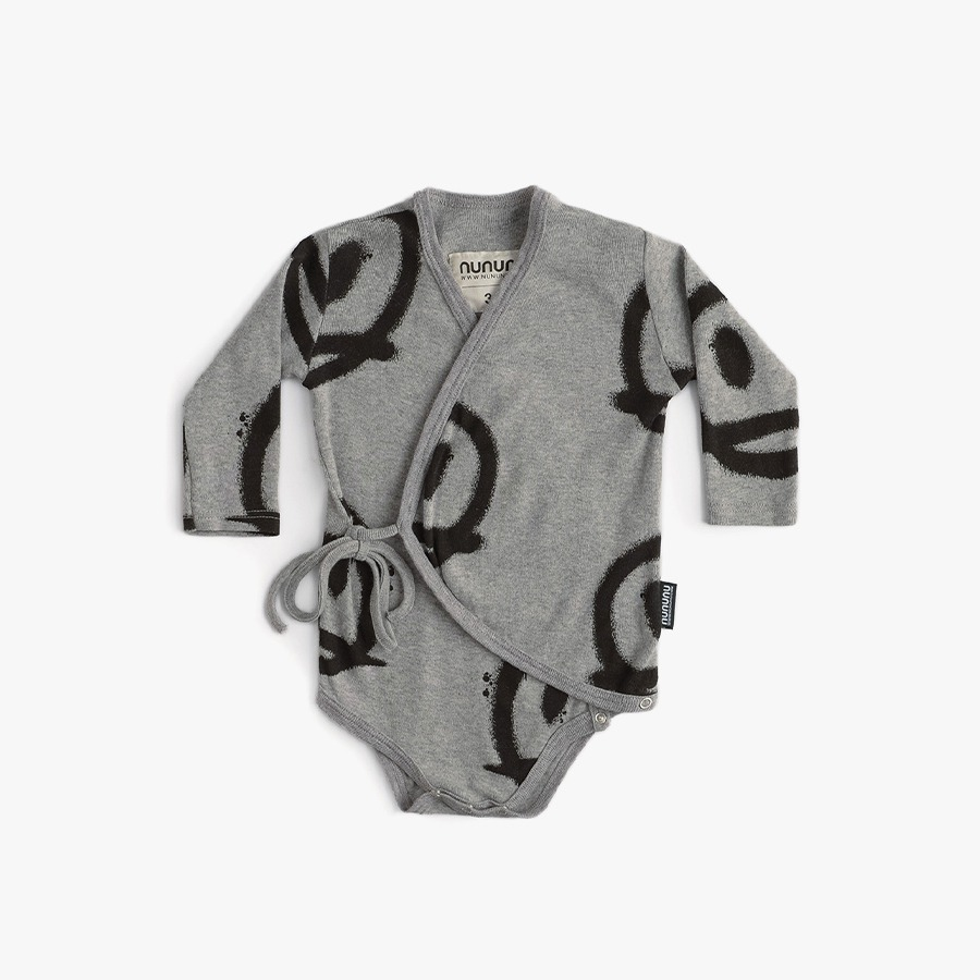 캐리마켓 -  Sprayed smiles envelope onesie (new born)