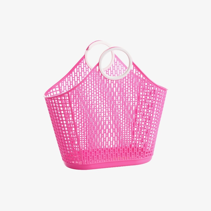 캐리마켓 -  Fiesta Shopper Small HOT PINK