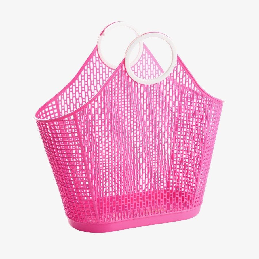 캐리마켓 -  Fiesta Shopper Large HOT PINK