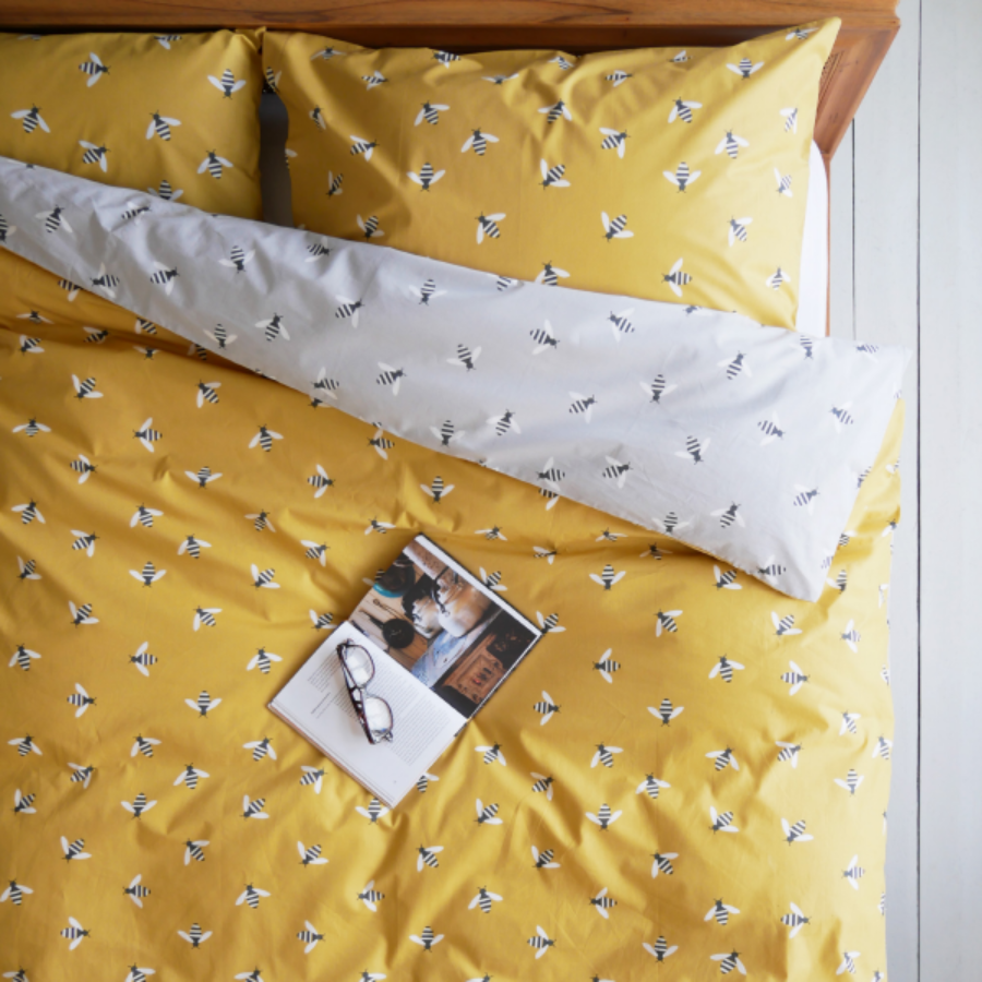 캐리마켓 -  Anorak Buzzy Bee Organic Cotton Bedding