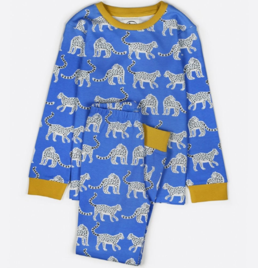 캐리마켓 -  Anorak Snow Leopards Kids Pyjamas