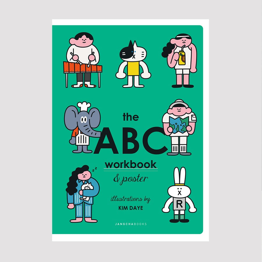 캐리마켓 -  the ABC workbook & poster