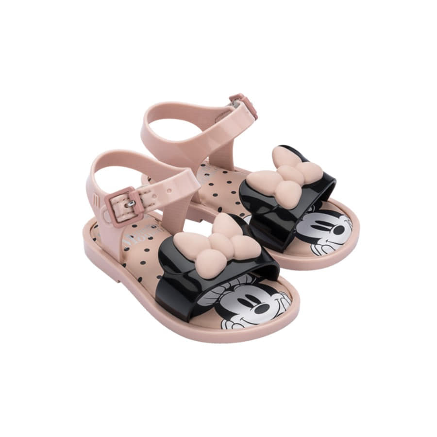 캐리마켓 -  [미니멜리사] MAR SANDAL MICKEY / 33234-PINK/BLACK
