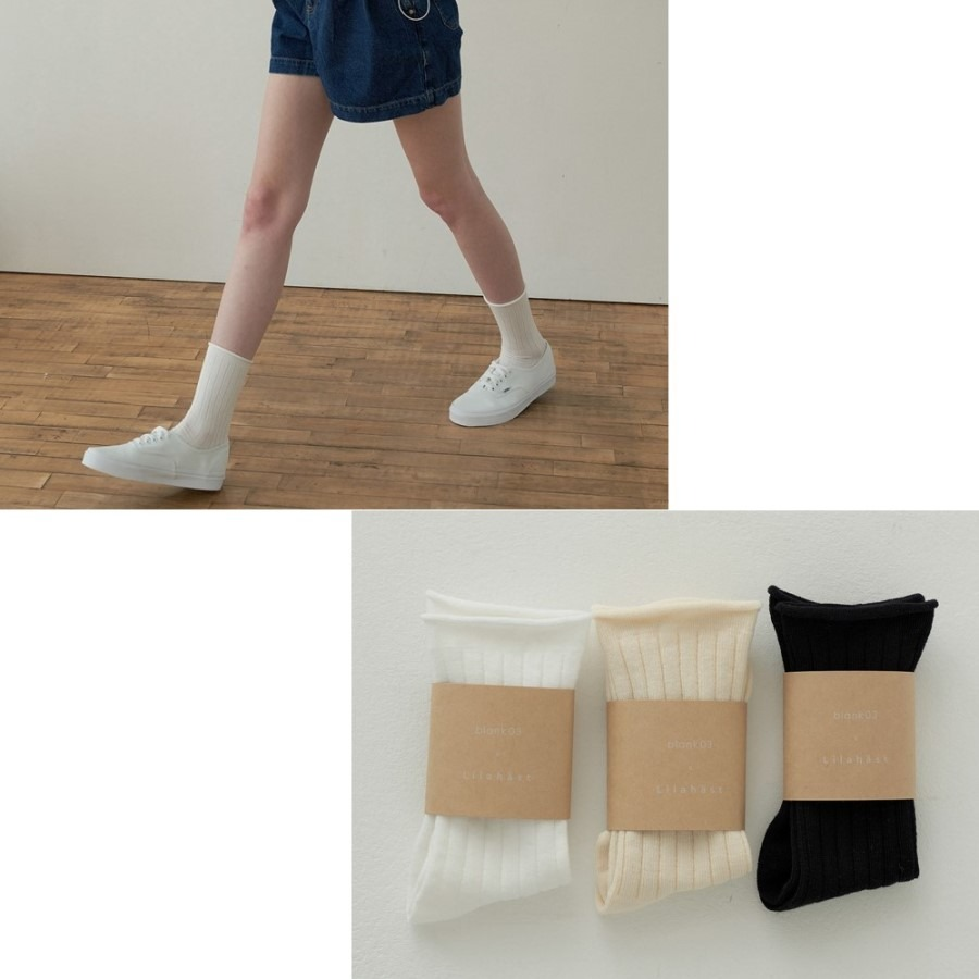 캐리마켓 -  Cotton Candy Socks_Basic 3set