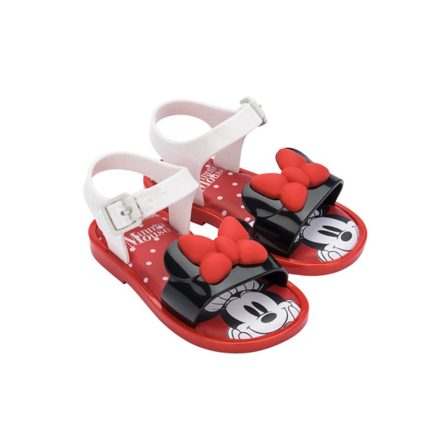 캐리마켓 -  [미니멜리사] MAR SANDAL MICKEY / 33234-WHITE/BLACK